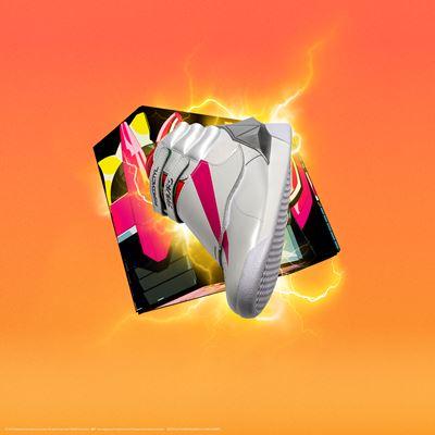 Reebok x Power Rangers collection - Freestyle Hi Pink Ranger