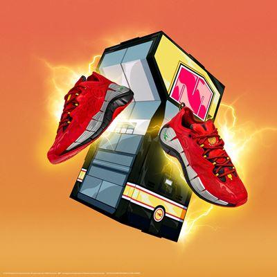 Reebok x Power Rangers collection - Zig Kinetica II Red Ranger