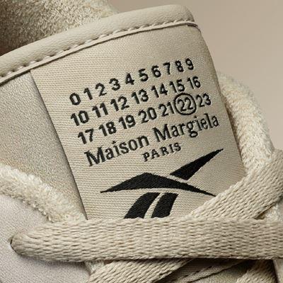 Maison Margiela x Reebok Club C MM beige