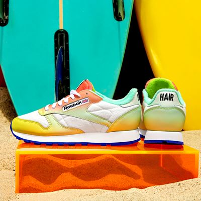 Reebok's iconic Classic Leather and Club C 85
