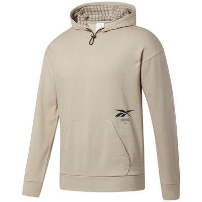 Reebok Thermowarm+Graphene Cotton Fleece Hoodie Beige
