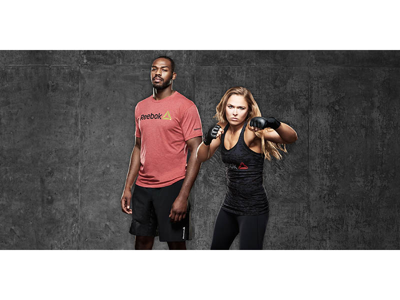 Jones & Rousey Join Reebok