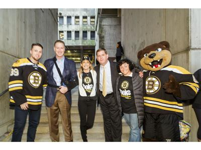 Boston Bruins Foundation Partner with BOKS Program Encouraging Kids to get Active Before School