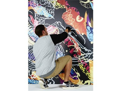 Reebok Collaborates with Renowned Street Artist, Tristan Eaton to Create Street Inspired Yoga Appare