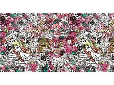 """世界的なアーティスト""""Lady AIKO""""とのコラボレーション ポップでキュートなデザインが魅力のフィットネスウェアが登場 2018年3月9 日(金)より発売開始"""