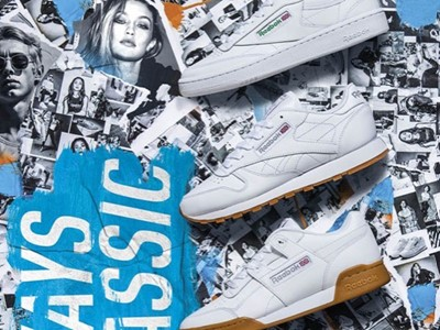 REEBOK CLASSIC UNVEILS 'ALWAYS CLASSIC' CAMPAIGN FOR SPRING/SUMMER 2018 FEATURING OUTLIERS OF MUSIC