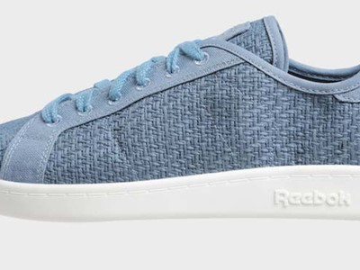 """Cotton + Corn"" vegan sneakers - Blue Slate"