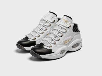 "Reebok Debuts Question Mid ""Respect My Shine"" Nodding Allen Iverson and Enabling Wearers to Earn The"