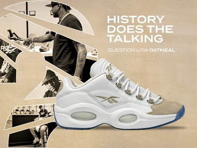 Reebok Reissues Question Low Oatmeal