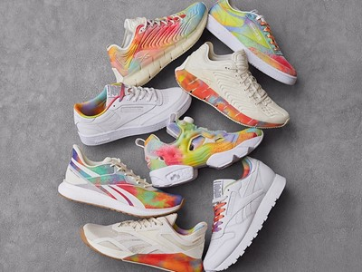 "Reebok Celebrates LGBTQ+ Community Pride with ""All Types of Love"" Collection and ""Proud Notes"" Campa"