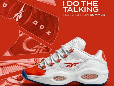 Reebok Question Low Summer Pack - white/red