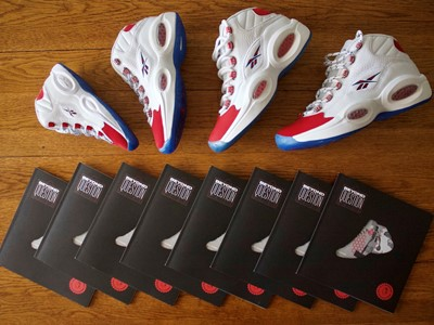 Reebok Celebrates 25th Anniversary of Question MID OG Red Toe