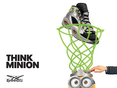 "Reebok and Illumination present ""Minions: The Rise Of Gru"" Footwear Collection detailing a Young Gru"