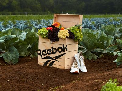 Reebok Partners with Boston Farm to Offer First Plant-Based Performance Shoe with a Side of Fresh Pr