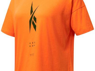 Edgeworks Graphic Tee - Orange - Front - Women
