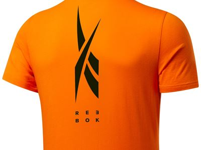 Edgeworks Graphic Tee Orange - Back - Men