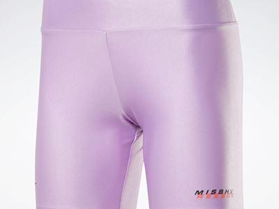 Bike Shorts Puzzled Purple FR