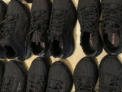 Reebok x Kanghyuk Zig Kinetica collection - Black