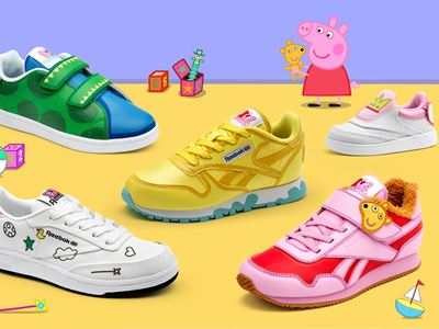 Reebok Releases First-Ever Kids Collaboration with Peppa Pig
