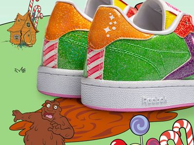 Reebok x Candyland Tease Lifestyle Kids Club C Pack