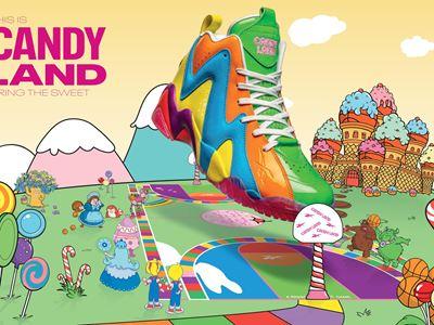 Reebok Candy Land Horizontal Kamikaze
