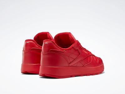 Maison Margiela x Reebok Classic - Leather - Tabi red (2)