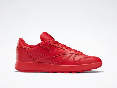 Maison Margiela x Reebok Classic - Leather - Tabi red (4)