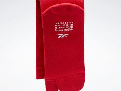 Maison Margiela x Reebok Classic - Leather - Tabi sock red