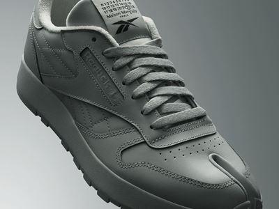 Maison Margiela x Reebok Classic - Leather - Tabi grey - 1080X1920