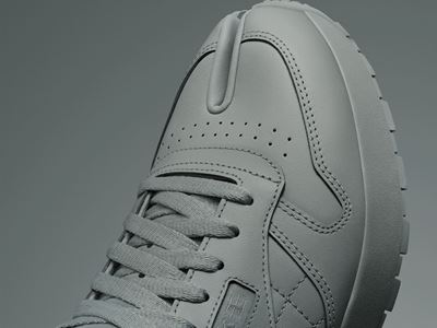 Maison Margiela x Reebok Classic - Leather - Tabi grey - DETAIL 02 - 1080X1920
