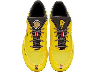 Reebok x Power Rangers collection - Club C Yellow Ranger TPP