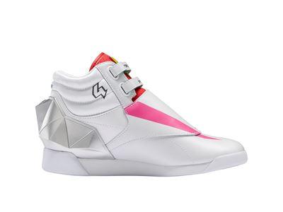 Reebok x Power Rangers collection - Freestyle Hi Pink Ranger SMC