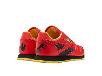 Reebok x Jurassic Park Red Classic Leather Junior BLT