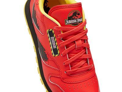 Reebok x Jurassic Park Red Classic Leather Junior D2