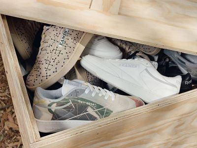 Reebok Honors Eames Legacy with Iconic Club C Collaboration