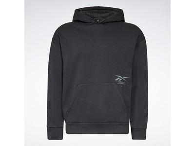 Reebok Thermowarm+Graphene Cotton Fleece Hoodie Black