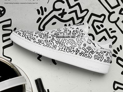Reebok's Keith Haring Collection