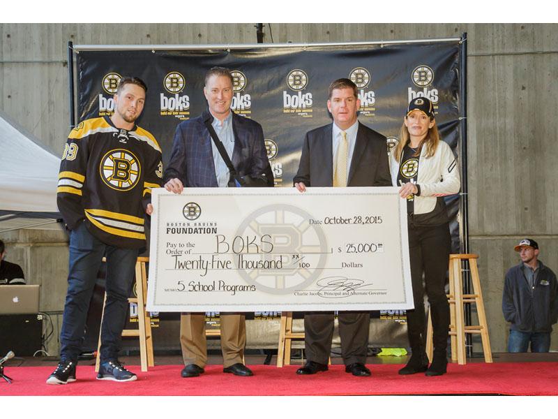 BOKS Bruins Check Presentation