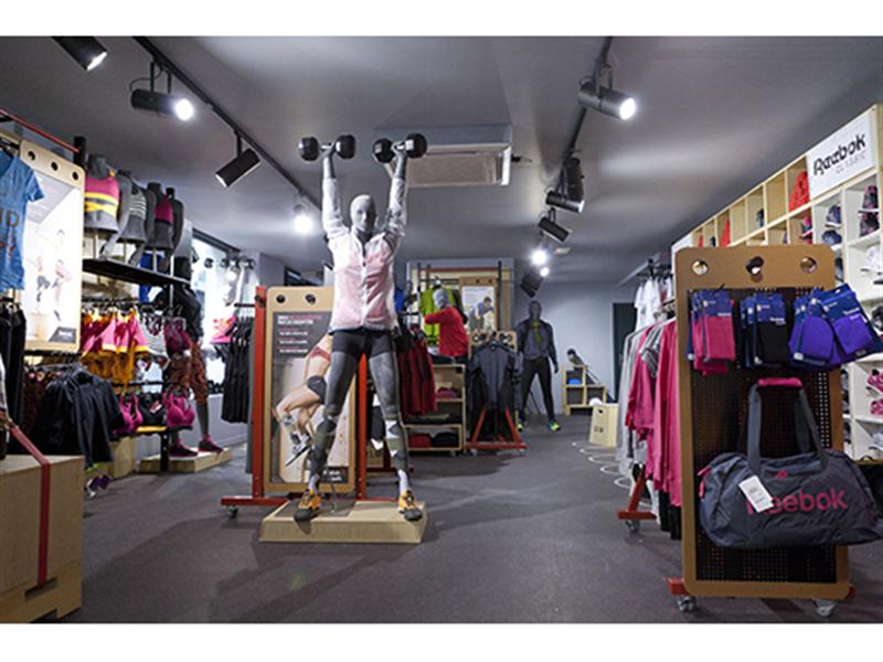 reebok fit hub store crossfit gym opens in new york city interior design shops nyc Reebok Opens Its First Paris FitHub
