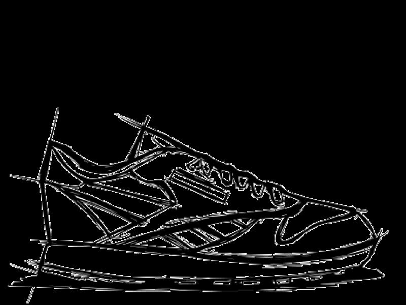 Reebok News Stream First Pitch Bee Keeper Sneaker Sketch