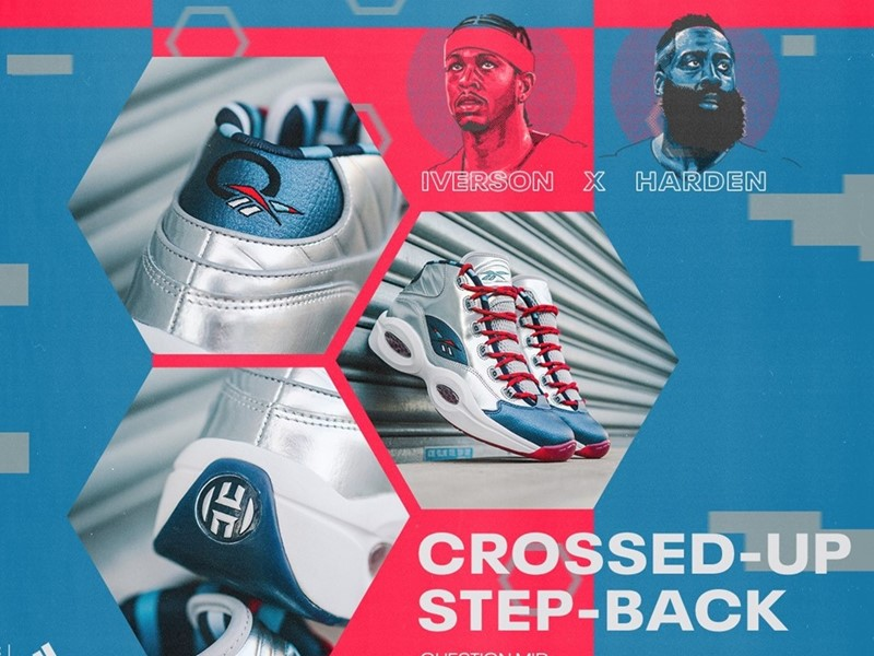 "「IVERSON X HARDEN QUESTION MID ""CROSSED UP, STEP BACK""」発売"