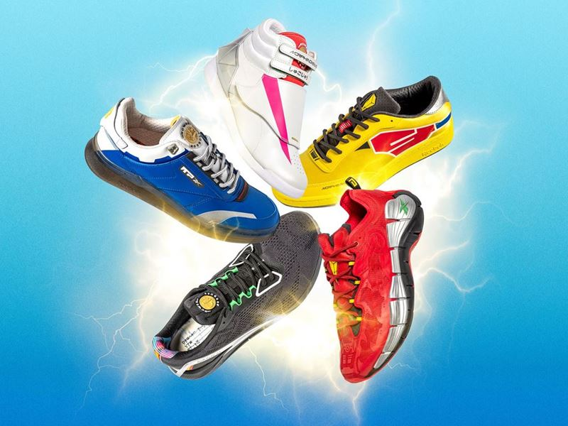 Reebok x Power Rangers collection - Group Image