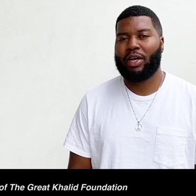 Reebok and The Great Khalid Foundation provide young aspiring artists an opportunity to be mentored by Khalid
