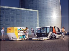 "CES Las Vegas 2020: Rinspeed's ""MetroSnap"" displays innovative solution for the key question of modular vehicle systems and mobility options:"