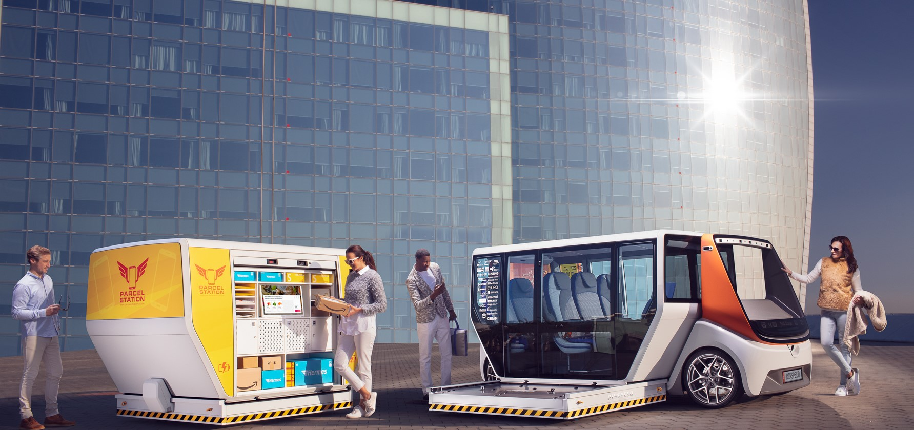 "CES Las Vegas 2020: Rinspeed's ""MetroSnap"" displays innovati"