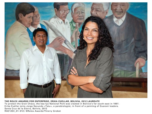 The Rolex Awards For Enterprise, Erika Cuéllar, Bolivia, 2012 Laureate