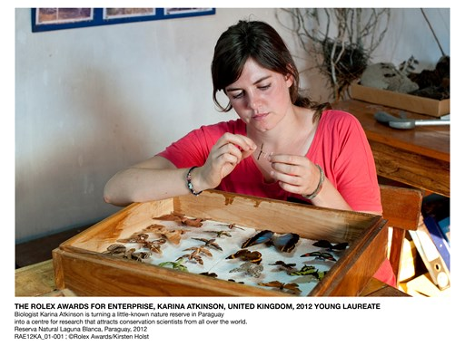 The Rolex Awards for Enterprise, Karina Atkinson, United Kingdom, 2012 Young Laureate