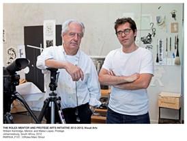 THE ROLEX MENTOR AND PROTÉGÉ ARTS INITIATIVE 2012-2013, Visual Arts