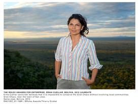 The Rolex Awards For Enterprise, Erika Cuéllar, Bolivia, 2012 Laureate