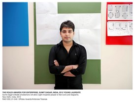 The Rolex Awards for Enterprise, Sumit Dagar, India, 2012 Young Laureate